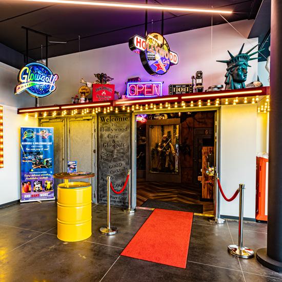 HollywoodCafé Amsterdam Entree