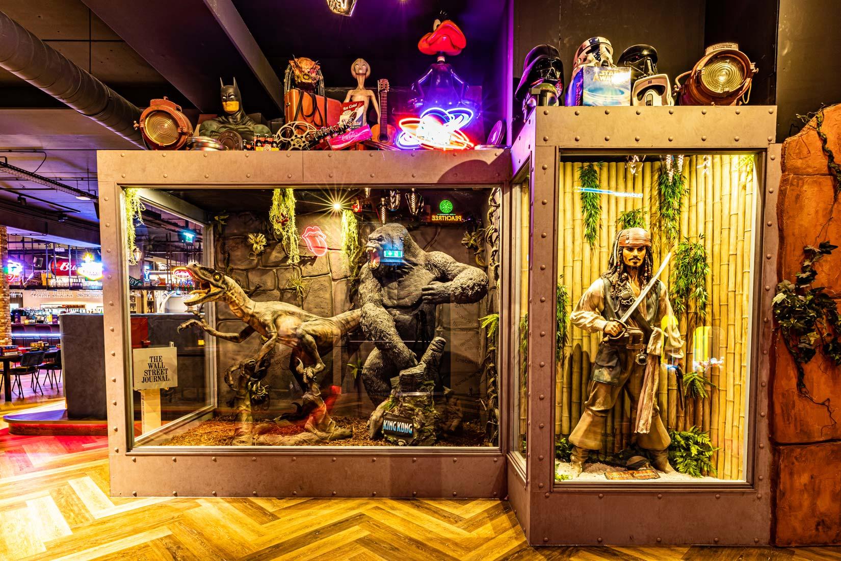 HollywoodCafé Amsterdam Vitrine
